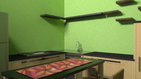 kalawat2 - Kitchen - by Tropicaholic