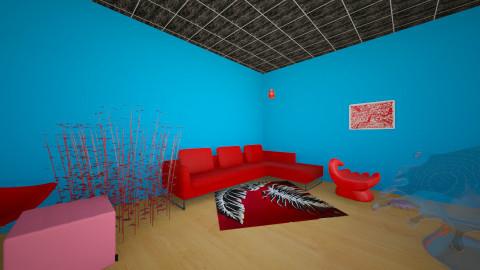 Bedroom - Bedroom - by gummie04