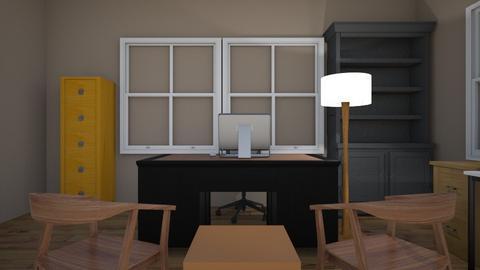 Design Studio - Modern - Office - by Sergio_152