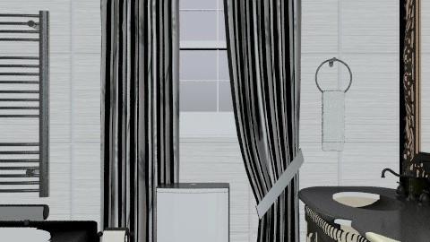 Alex  - Glamour - Bathroom - by doronina_zhanna