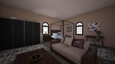 Guest Room 2 - Bedroom - by yvonster