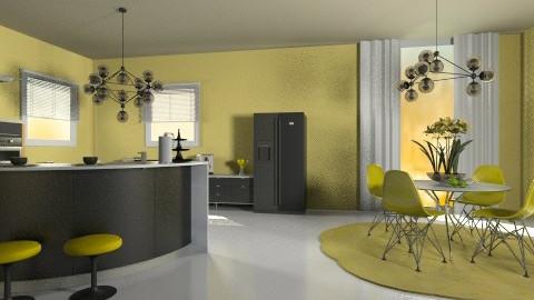 mykitchen - Modern - Kitchen - by Anchy0712