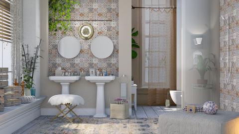 La Parisienne - Bathroom - by Mum Dali
