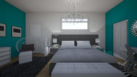 modernt - Bedroom - by dena15