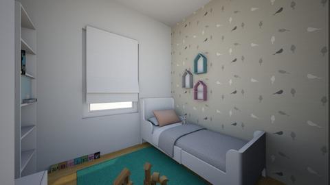 bed - Bedroom - by paulakomajda