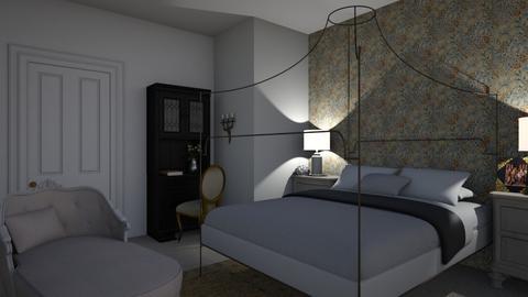 Bedroom - Feminine - Bedroom - by Annathea