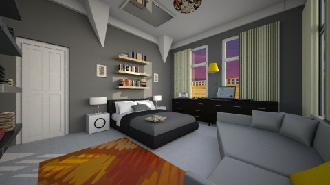 Tsephz in the corner  - Modern - Bedroom - by Nkanyezi Nhezi Gumede