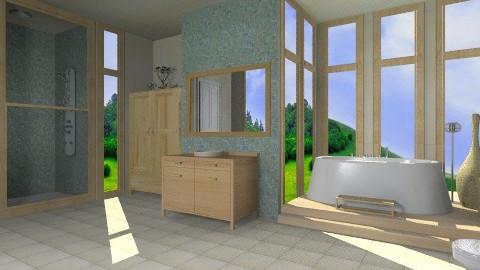 bathroom - Country - Bathroom - by _Lisha_