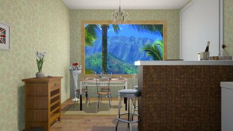 la comida 5 - Dining room - by HermioneJMalfoy