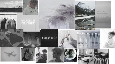 Grey Aesthetic  - by Mango4