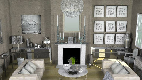 SmokeAndMirrors - Glamour - Living room - by camilla_saurus