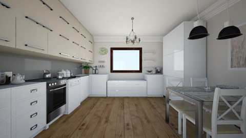 kitchen9 - Glamour - Kitchen - by Alicja Habram