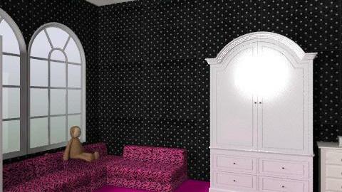 girl room - Modern - Bedroom - by lovegirl1782