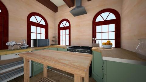 kyle kitchen 2 - Rustic - Kitchen - by dora_a_smith