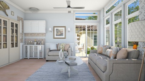 Palmetto  - Living room - by steph01mami