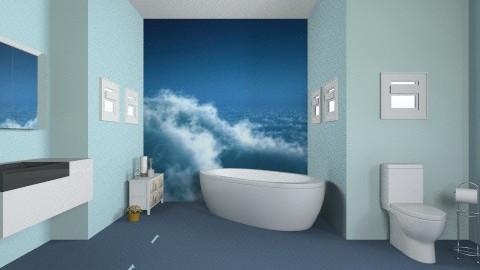 BlueBathroom - Bathroom - by Tatjanaa Linsenn