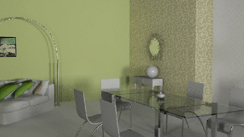 green room - Dining Room - by robyy