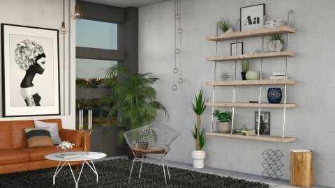 Corner - Eclectic - Living room - by evahassing