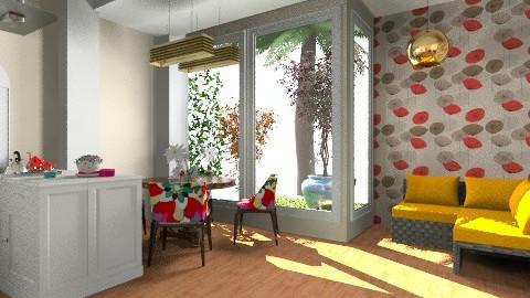 cozinha florida - Rustic - Kitchen - by JCjulia
