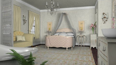 Shabby Chic? - Vintage - Bedroom - by Theadora