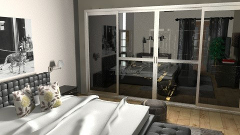 Master Bedroom view 2 - Modern - Bedroom - by lucian_serpi