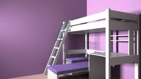 caitlin - Bedroom - by kaite