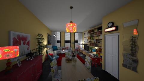 Template room - Living room - by hillygabe