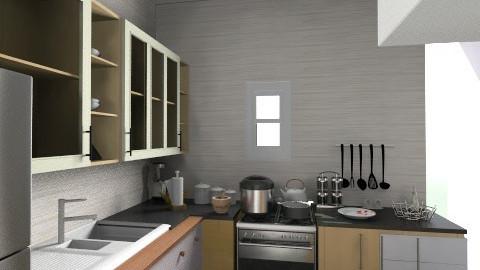 idk kitchen - Vintage - Kitchen - by Zo0oZo0o96