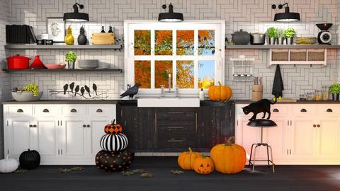 halloween - Kitchen - by soralobo
