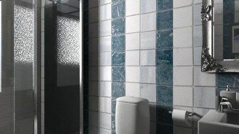 bathroom0 - Retro - Bathroom - by reggie124