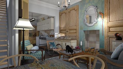 Rustica  - Rustic - Living room - by The quiet designer