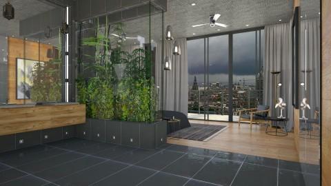 Penthouse Bedroom - Modern - Bedroom - by evahassing