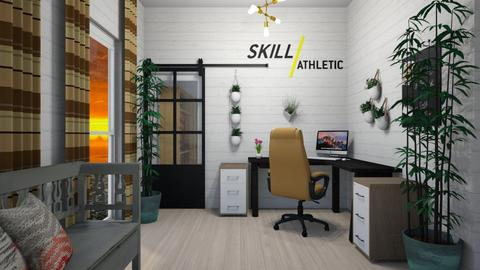 Office Creation - Rustic - Office - by XqveenXlove