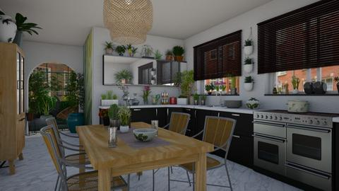 Urban Jungle Kitchen - Kitchen - by JM Krab