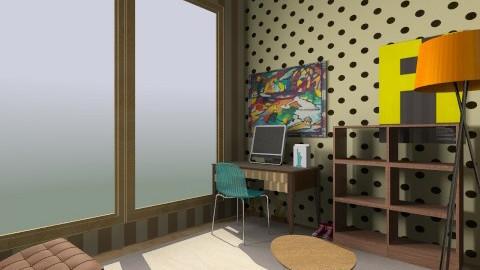 work room - by filipe alberto krug