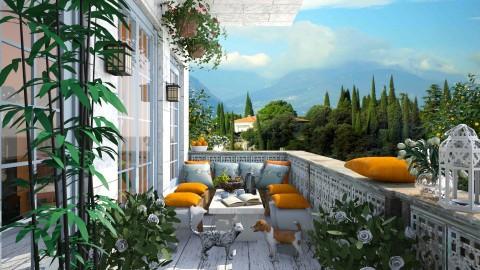Lago di Garda II - Garden - by lydiaenderlebell