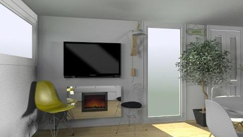 yellow living 2 - Living room - by ValeGra
