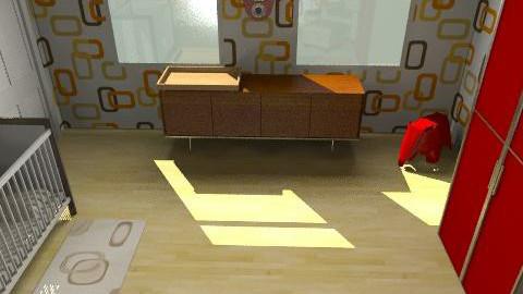 Kafferan's Nursery - Retro - Bedroom - by Appriel33