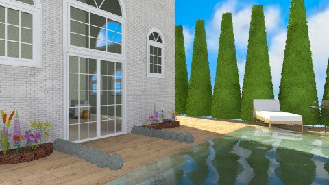 Pool - Garden - by froggy62