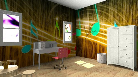 Cool  - Glamour - Kids room - by Nataly Vega