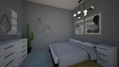 modern hotel room idea - Bedroom - by eby_bond