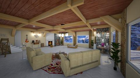 Aspen Chalet Template - by Spencer Reid