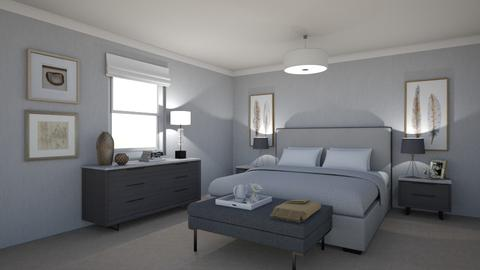 Contemporary Bedroom look - by maribel