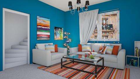 Colorful - Modern - Living room - by colorful_eye