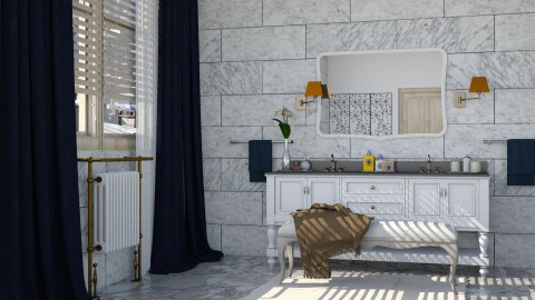 Lady - Glamour - Bathroom - by katarina_petakovi