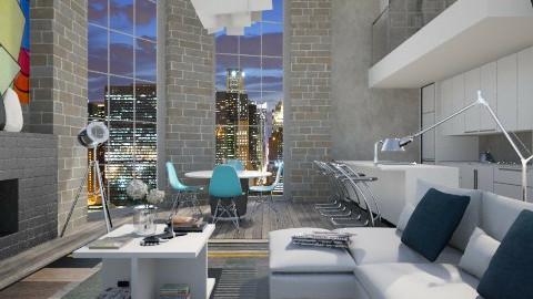Apartment - Living room - by XValidze