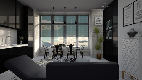 Template Baywindow Room - Kitchen - by its_eima