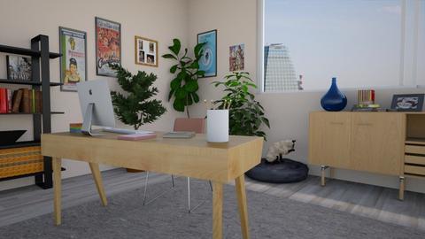 Comfy office - Office - by taiyakkki
