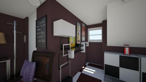 Patricia Balla attic - Modern - Bedroom - by Patricia Jackson Balla_916