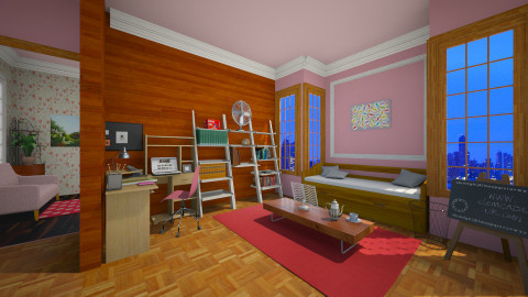 studying - Office - by Colomba Wimble